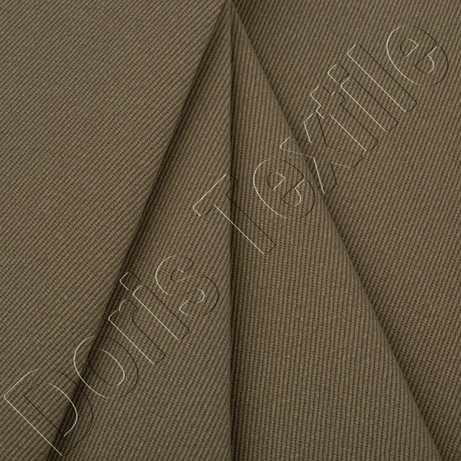 poly cotton dyed twill/drill fabric supplier