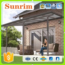 high quality outdoor aluminum frame sun shades garden swing canopy hardware
