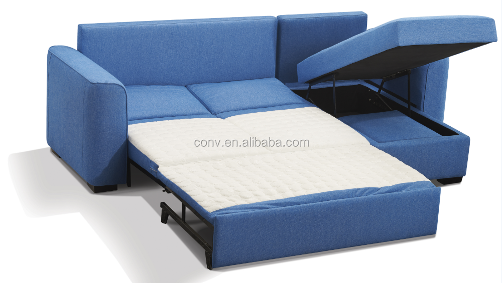 Hotel used blue fabric sectional with chaise lounge cheap for Chaise lounge cheap uk
