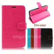 new mobile phone accessories leather case for samsung galaxy as3 mini