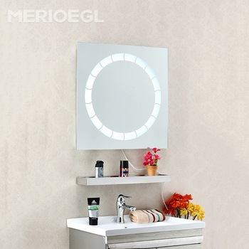 Light dressing room mirror, mirror with led light, touch screen bathroom mirror