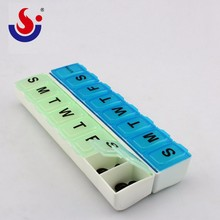 Hot Sale Custom 7 Days Plastic Pill Container