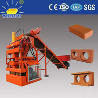 LY1-10 soil brick machine to work at home/earth brick making machines price/brick machine