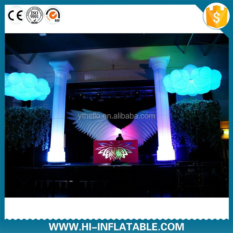 inflatable cloud decoration party decoration with logo