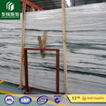 New Green Wooden Grains Marble, green veins white marble big slabs