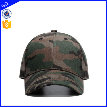Wholesale high quality men women golf cap custom cotton baseball army printing sports cap