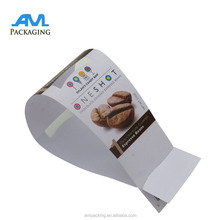 color printing white plastic PP coffee belly band