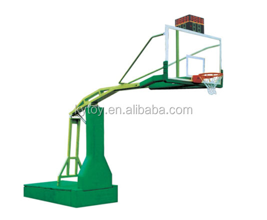 2017 Fast delivery outdoor basketball goal posts movable basketball stand for sale