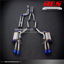 Titanium Alloy Exhaust Pipe Price With Sports Car Sound System For 535LI