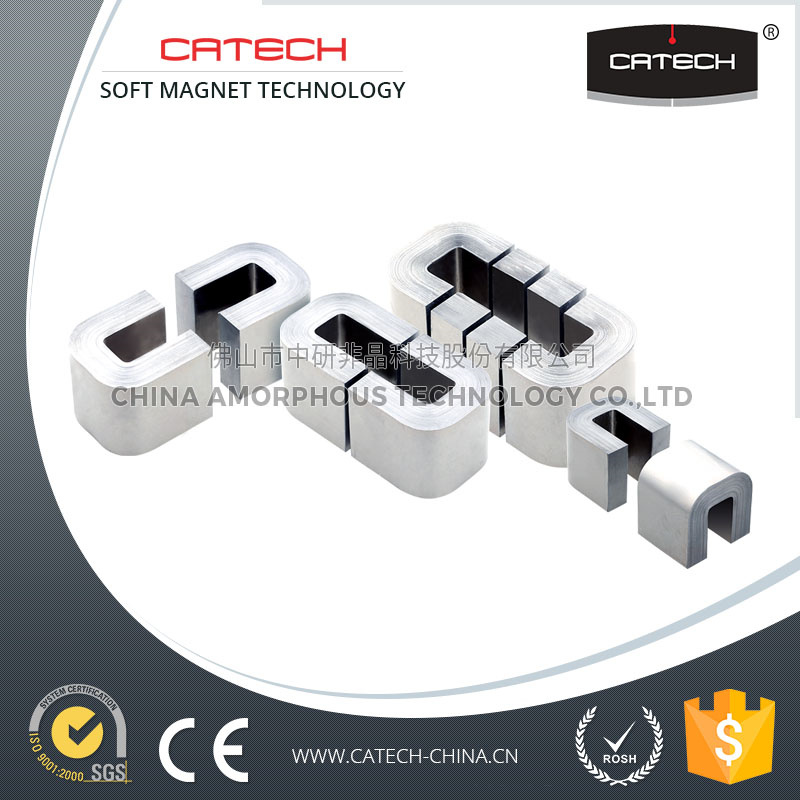 High saturation induction low core loss Nanocrystalline Amorphous C core factory