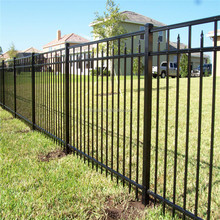 Customized aluminum fence and black aluminum fence & aluminium fence slats