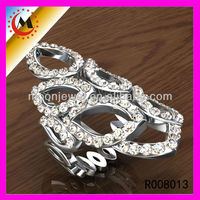 WHITE NATURAL NEWEST DESIGN HEART-SHAPED RINGS,HOT SALE MODERN RINGS NEWEST DESIGN FOR ROMANTIC LOVE