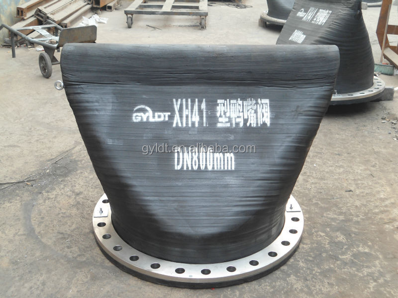 Big Diameter Duckbill Water Check Valves