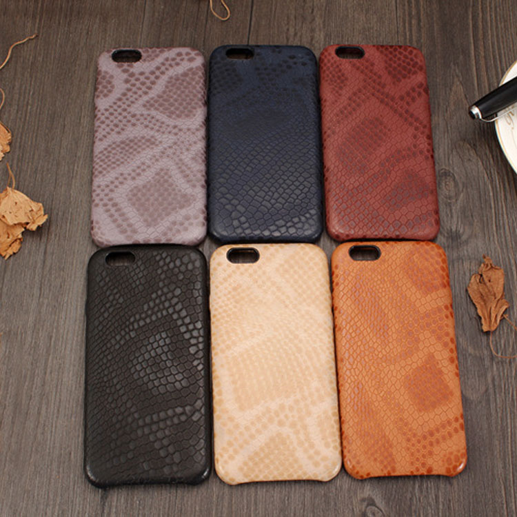 wp1027 Fashion Snake Pattern Leather Case for Iphone6/6s/6 plus