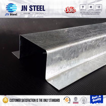 china manufacturer roller dimensions c/z/u purlin T/I section galvanized steel metal purlin/profile