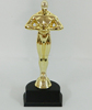 Best selling plastic oscar trophy awards/Oscar trophy whoesale/Figure Oscar trophy