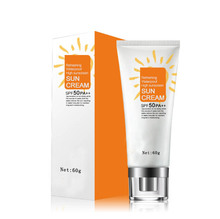 High quality OEM natural moisturizing and whitening sunscreen cream