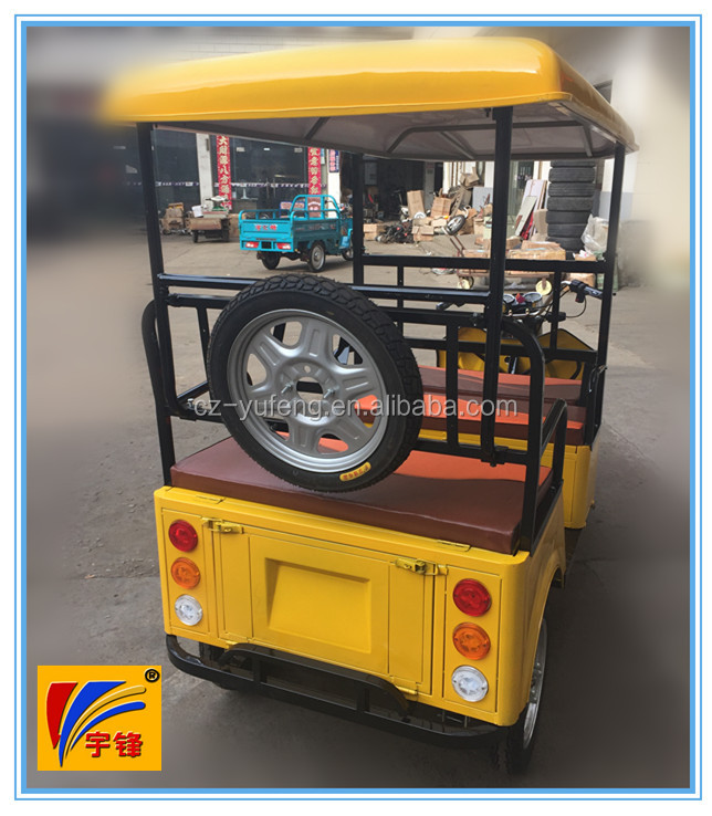 48V 850W electric tricycle,battery rickshaw for 4 passengers