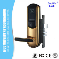 Whosale price residental hotel entrance door lock with computer controlled
