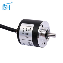 Incremental Rotary Encoder wit Indurative Axle & High Resolution Stable Working Performance Machine Speed Position Control
