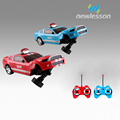 3D lights muscle taxi fashion kids toys radio control stunt car with roll