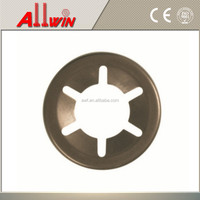 FLAT METAL CLAMP WASHER COVER PUSH ON CLIP DISC