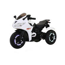 2018 Baby Toy Handlebar Accelerator Plastic Kids Motorcycle with Flashing Wheel