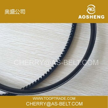 OEM automotive rubber belt raw edge cogged v belt auto fan belt industrial fan belt cutting v-belt