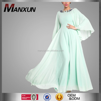 2016 Latest Design Moden Fashion Women Original Design Baju Kurung And Baju Melayu With Beaded