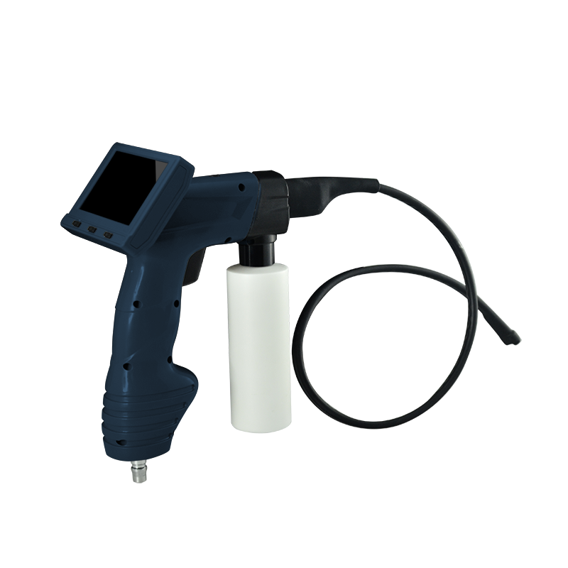Protable Handheld Washing Gun with 4 spary Holes for Auto A/C inspection