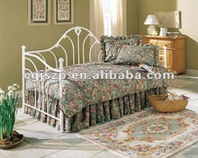 Exquisito y muebles de dormitorio <span class=keywords><strong>antiguo</strong></span> metal blanco diván