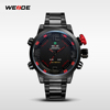 WEIDE Sport Brand 30m Water Resistant Japan Quartz Digital Movement Military Wholesale Luxury Watches