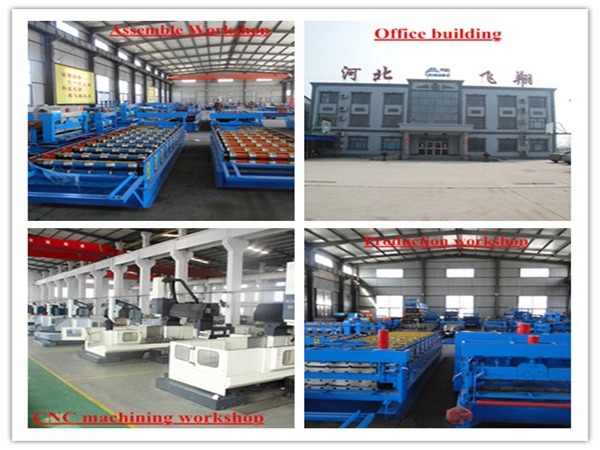 Insulate composite roof wall panel, Metal tile wall&roof deduction trough roll forming machine