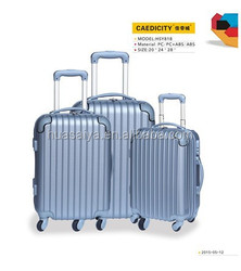 4 university 360 turn 20 24 28 inch ABS Luggage