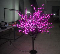 led weeping willow tree lighting/indoor decoration led tree lighting/christmas tree lights