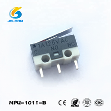 MPU-1011-B 1a 250vac mini zippy Mouse micro switch with 3 pin, micro limit switch