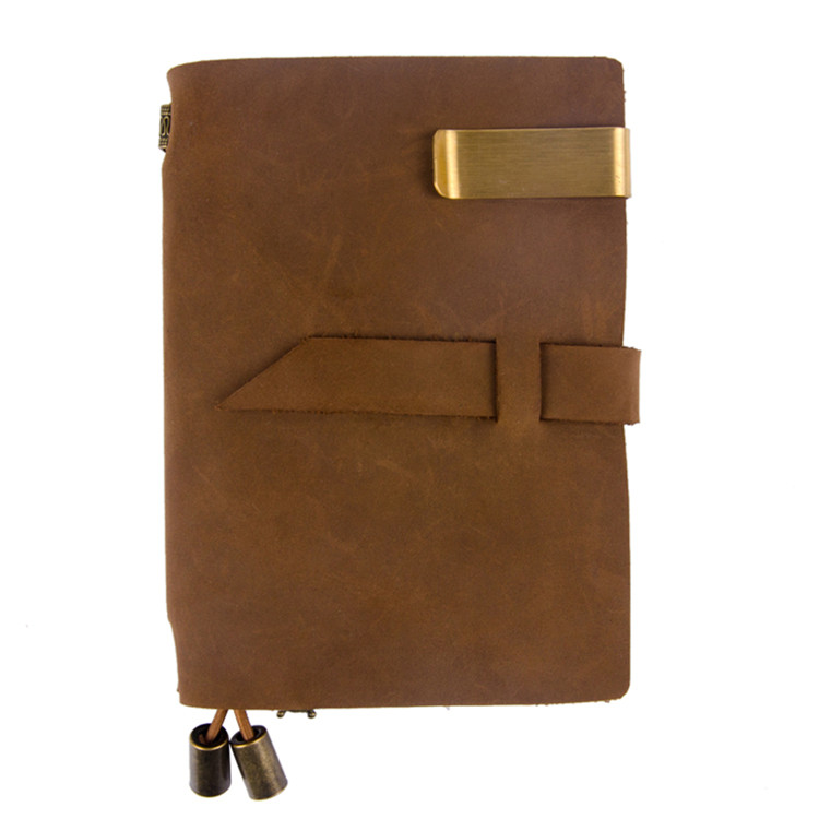 Eco friendly custom pu cover a4 size smart notebook