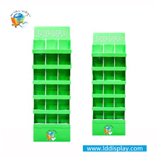 POS Portable T-Shirt Floor Cardboard Display Stand/T-Shirt Cardboard Display For Promotion