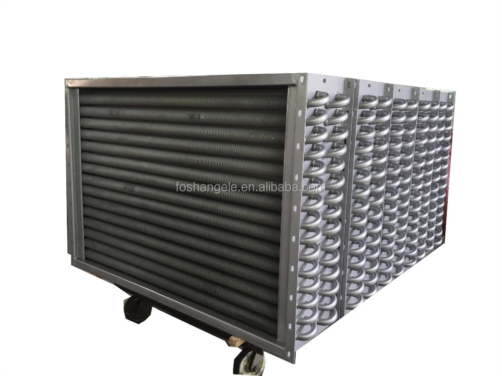 Gas To Water Stainless Steel Material Radiator & Heater Exchanger Coils For Feed Machinery & Egg Incubator