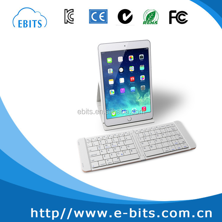 Folding Mini Bluetooth Keyboard for Ipad/Mobile Phone/Tablet PC/Laptop