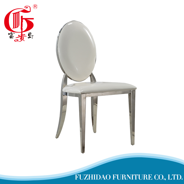 Modern french leather vintage dining chairs for dining room