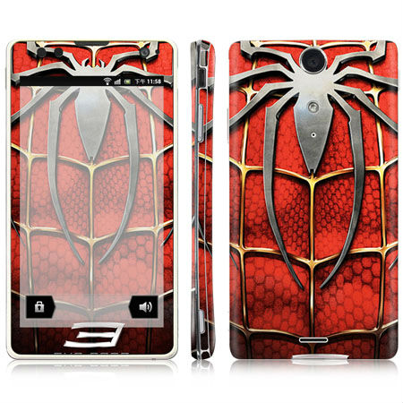 Cool Spiderman design decal lt29i Mobile Skin Sticker wholesale and mixed designs available