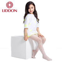 The children of girl in the transparent silk stockings star printed free sample nylon pantyhose