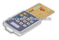 smartphone card reader with pinpad(ISO-7816/PCI PTS 3.1/CE/FCC/RoHS/EMV Level 1)