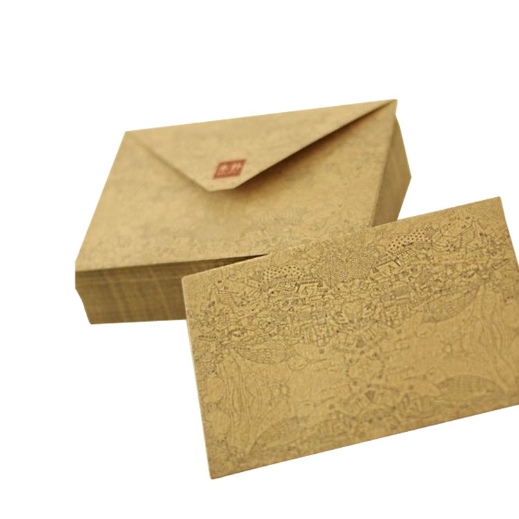 mini kraft paper envelopes