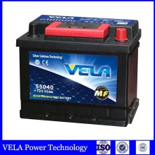 car battery 12v 48ah DIN50 maintenance free battery