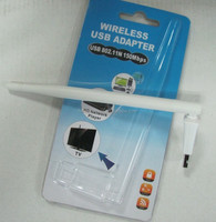 150M Windows 2000/XP/Vista/Win7/Linux/MAC Ralink RT5370 chipset wireless usb network adapter with plastic case
