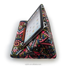 printed computer lap can holder pillow