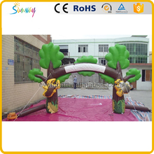 Custom made inflatable tree gate inflatable decoration arch