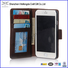 Handmade Vintage Genuine Leather Phone Case For iPhone 6